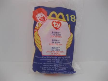 2000 McDonalds - #18 Bushy - Teenie Beanie
